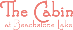 the cabin at beachstone lake logo